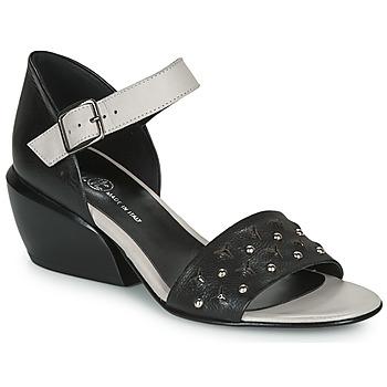 Zapatos Mujer Sandalias Fru.it  Negro / Blanco