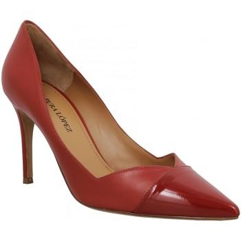 Zapatos Mujer Zapatos de tacón Pura Lopez 123935 Rojo