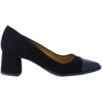 Zapatos Mujer Zapatos de tacón Estiletti 2670 Zapatos de Salón de Mujer negro