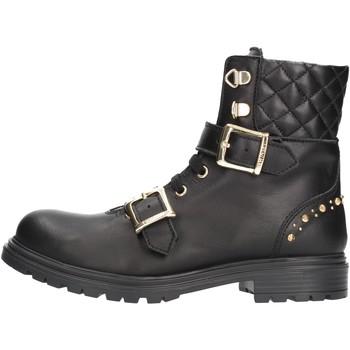 Zapatos Niño Botas de caña baja Twin Set - Anfibio nero 192GCJ01A NERO