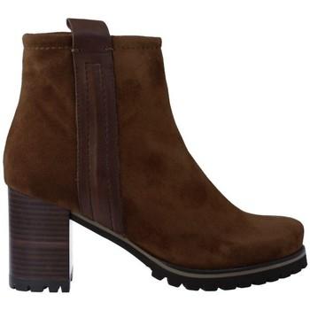 Zapatos Mujer Botines Pedro Miralles 25841 Botines de Mujer marrón