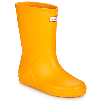 Zapatos Niños Botas de agua Hunter KIDS FIRST CLASSIC Amarillo