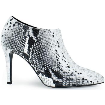 Zapatos Mujer Low boots Exé Shoes BOTIN TACON BASICO SNAKE GARDA-169 Color Gris