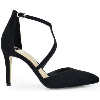 Zapatos Mujer Zapatos de tacón Exé Shoes ZAPATO SALON TIRAS NEGRO GARDA-229 Color Negro
