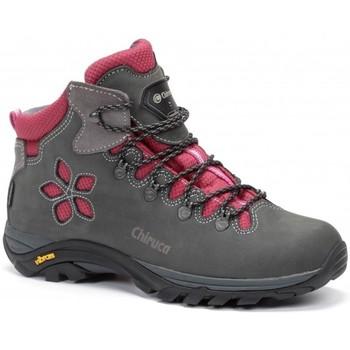 Chiruca Botas  Monique 08 Gore-Tex Gris - Zapatos Senderismo Mujer 14795