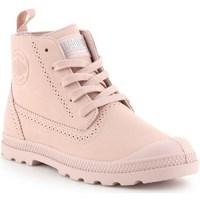 Zapatos Mujer Botas de caña baja Palladium Manufacture Pampa Ldn LP Rosa