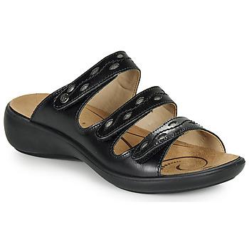 Zapatos Mujer Zuecos (Mules) Romika IBIZA 66 Negro
