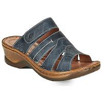 Zapatos Mujer Zuecos (Mules) Josef Seibel CATALONIA 49 Azul