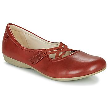 Zapatos Mujer Bailarinas-manoletinas Josef Seibel FIONA 41 Rojo
