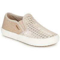 Zapatos Niña Slip on Geox J KILWI GIRL Beige