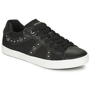 Zapatos Niña Zapatillas bajas Geox J KILWI GIRL Negro