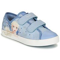 Zapatos Niña Zapatillas bajas Geox JR CIAK GIRL Azul