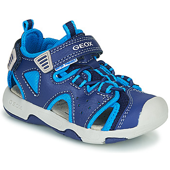 Zapatos Niño Sandalias de deporte Geox B SANDAL MULTY BOY Azul
