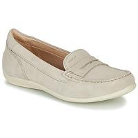 Zapatos Mujer Mocasín Geox D YUKI Beige