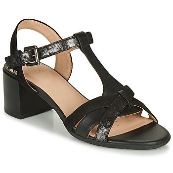Zapatos Mujer Sandalias Geox D MARYKARMEN MID SAN Negro