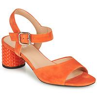Zapatos Mujer Sandalias Geox D ORTENSIA MID SANDA Naranja