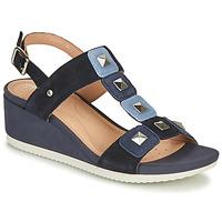 Zapatos Mujer Sandalias Geox D ISCHIA Azul
