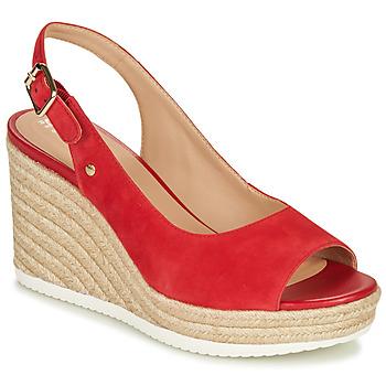 Zapatos Mujer Zapatillas bajas Geox D PONZA Rojo