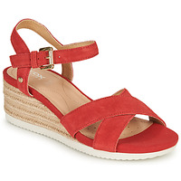 Zapatos Mujer Sandalias Geox D ISCHIA CORDA Rojo