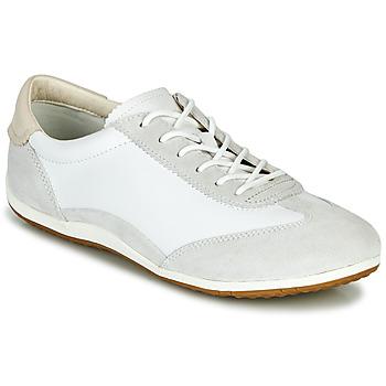 Zapatos Mujer Zapatillas bajas Geox D VEGA Blanco / Gris