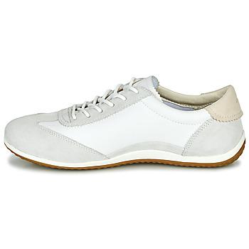 Geox D VEGA Blanco / Gris - Envío gratis |  - Zapatos Deportivas bajas Mujer 9592