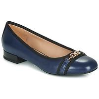 Zapatos Mujer Bailarinas-manoletinas Geox D WISTREY Marino / Negro