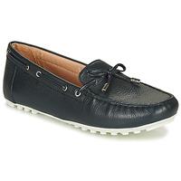 Zapatos Mujer Zapatillas bajas Geox D LEELYAN Azul / Marino