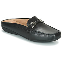 Zapatos Mujer Zuecos (Clogs) Geox D ANNYTAH MOC Negro