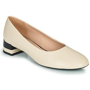Zapatos Mujer Zapatos de tacón Geox D CHLOO MID Beige