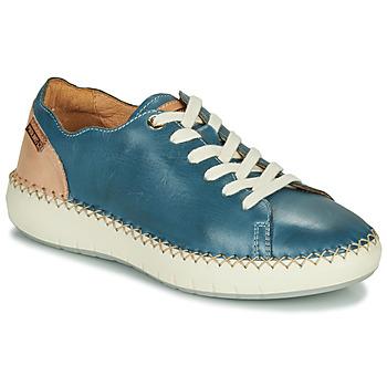 Zapatos Mujer Zapatillas bajas Pikolinos MESINA W6B Azul / Rosa