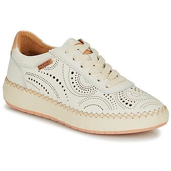 Zapatos Mujer Zapatillas bajas Pikolinos MESINA W6B Blanco / Rosa