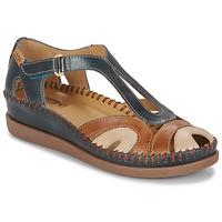 Zapatos Mujer Sandalias Pikolinos CADAQUES W8K Azul / Camel