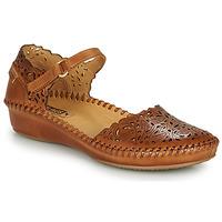 Zapatos Mujer Bailarinas-manoletinas Pikolinos P. VALLARTA 655 Cognac
