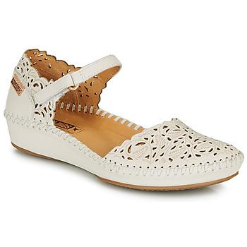 Zapatos Mujer Bailarinas-manoletinas Pikolinos P. VALLARTA 655 Blanco