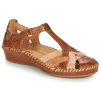 Zapatos Mujer Sandalias Pikolinos P. VALLARTA 655 Cognac / Camel