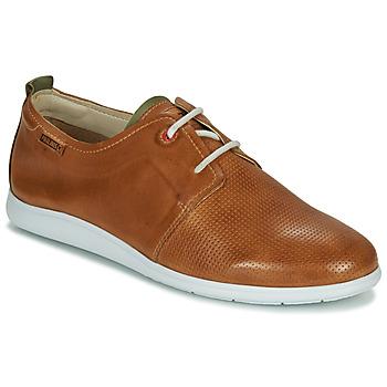 Zapatos Hombre Derbie Pikolinos FARO M9F Marrón / Verde