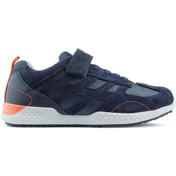 Zapatos Niños Zapatillas bajas Geox J SNAKE 2 NAVY