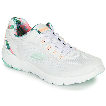 Zapatos Mujer Fitness / Training Skechers FLEX APPEAL 3.0 Blanco
