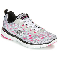 Zapatos Mujer Fitness / Training Skechers FLEX APPEAL 3.0 Gris / Rosa