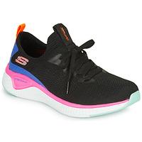 Zapatos Mujer Fitness / Training Skechers SOLAR FUSE Negro / Rosa / Azul