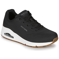 Zapatos Mujer Zapatillas bajas Skechers UNO STAND ON AIR Negro