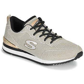 Zapatos Mujer Zapatillas bajas Skechers SUNLITE MAGIC DUST Gris / Oro