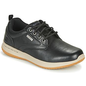 Zapatos Hombre Zapatillas bajas Skechers DELSON ANTIGO Negro