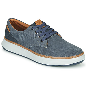 Zapatos Hombre Zapatillas bajas Skechers MORENO EDERSON Azul / Marrón