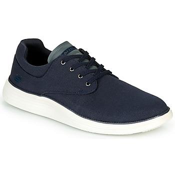 Zapatos Hombre Zapatillas bajas Skechers STATUS 2.0 BURBANK Marino