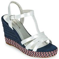Zapatos Mujer Sandalias Tamaris CYNARA Blanco / Marino / Rojo