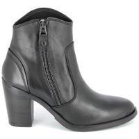 Zapatos Mujer Botines Porronet Boots Acap Noir Negro
