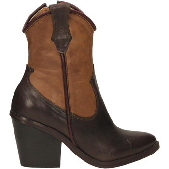 Zapatos Mujer Botines Salvador Ribes ILARY 12 caffe-cacao