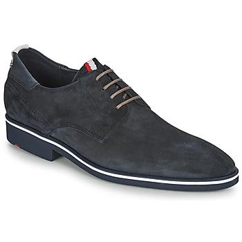Zapatos Hombre Derbie Lloyd JERSEY Marino