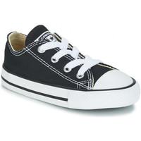Zapatos Niños Zapatillas bajas Converse CHUCK TAYLOR Noir